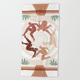 Energy Beach Towel