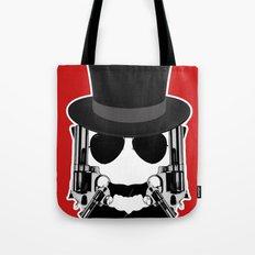 Gun Face Tote Bag