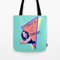 "30 rock Tote Bags featuring ""I want to go to there!"" (30 Rock) by Galit Zeierman"