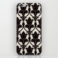 221b iPhone & iPod Skins featuring 221B by Jessica Cushen
