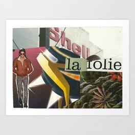 La Folie Art Print