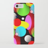 balloons iPhone & iPod Cases featuring Balloons by Artisimo