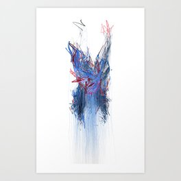 Unwelcome Gaze – Facebook 6 Art Print