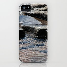 Trickle on Down iPhone Case