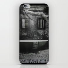 The floating woman iPhone & iPod Skin
