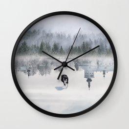 Dreaming Dog Wall Clock