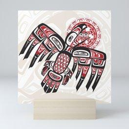 Raven Steals The Sun Mini Art Print