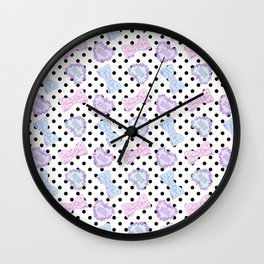 Pretty Baby Brand Whore Allover Pastel Spank Pop Kei Wall Clock