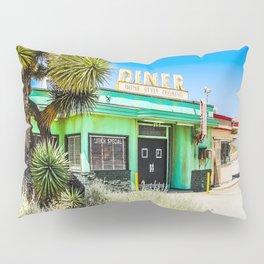 Deserted Desert Diner Pillow Sham