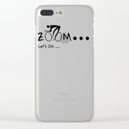 ZOOM ZOOM GO Clear iPhone Case