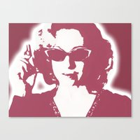 river song Canvas Prints featuring River Song  by Laura