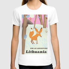For an adventure Lithuania T-shirt