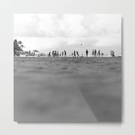 OCEANIC 4 Metal Print