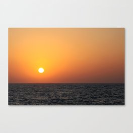 Aribian Sunset Canvas Print
