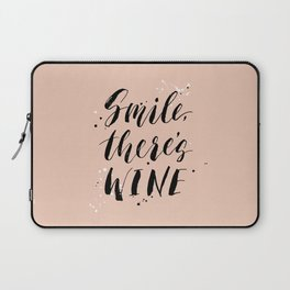 Smile, there's WINE Laptop Sleeve