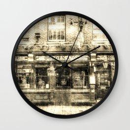 The Golden Lion Pub York Vintage Wall Clock