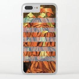 Die Streifen des Kardinals Clear iPhone Case
