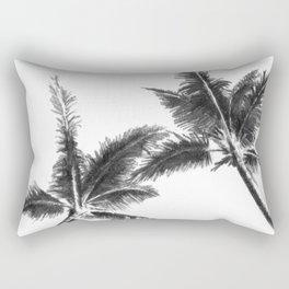 Palm Trees from Below Rectangular Pillow