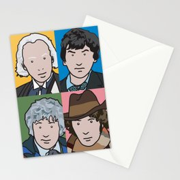 Doctors 1 to 4 Stationery Cards