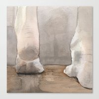 heels Canvas Prints featuring Heels by Kyle Anderson