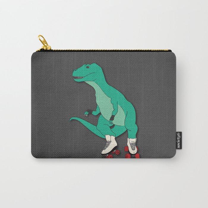 Tyrollersaurus Rex Carry-All Pouch