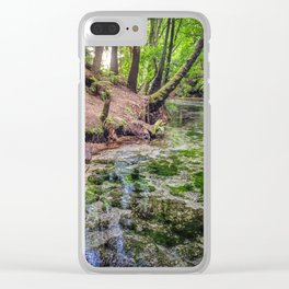 Hamurana Springs 3 Clear iPhone Case
