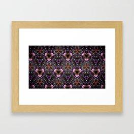 Orchid Kelidoscope Framed Art Print