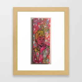 What's the story morning glory by Barrie J Davies 2015 Framed Art Print