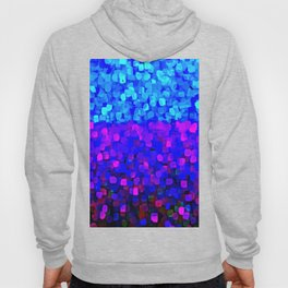 Sparkles Glitter Blue Hoody