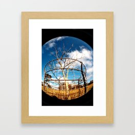Color and Contrast Framed Art Print