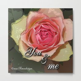 You & Me Metal Print