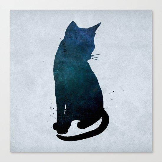 Dark Cat Canvas Print