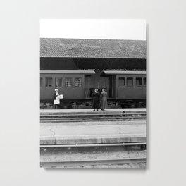 Railway ladies Metal Print