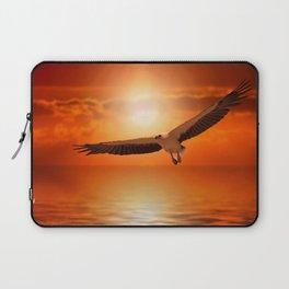 White  Eagle Laptop Sleeve