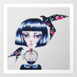 Paper Crows Art Print