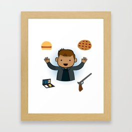 Dean Winchester - Supernatural Framed Art Print
