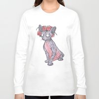 lucy Long Sleeve T-shirts featuring Lucy by theroyalbubblemaker