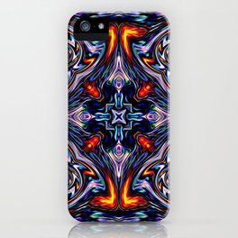 Fire Grid iPhone Case