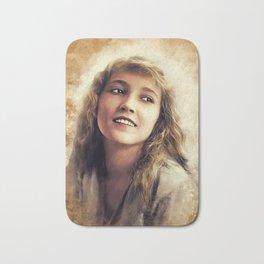 Bessie Love, Vintage Actress Bath Mat
