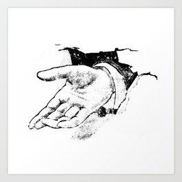 The hand 1 Art Print