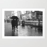 Times Square, New York City Art Print