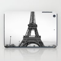 eiffel tower iPad Cases featuring Eiffel Tower by Loaded Light Photography