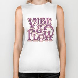 Vibe & Flow Biker Tank