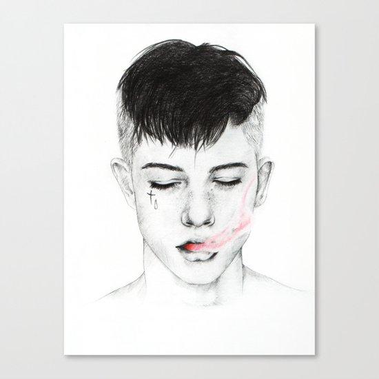 Testament. Canvas Print