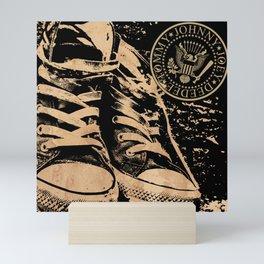 Ramones Shoes Mini Art Print