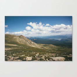 Mt. Massive Wilderness Canvas Print