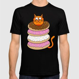 More Cats & Donuts T-shirt