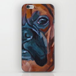 The Boxer Dog Lillibean iPhone Skin