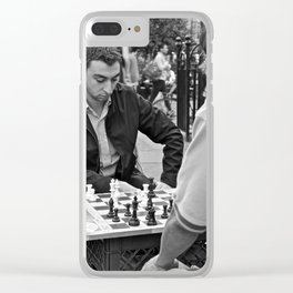 The Showdown (Part 5: NYC) Clear iPhone Case