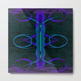 Tea Swirl I Metal Print